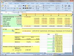 Long Term Project Evaluation Using Npv In Excel. - Youtube