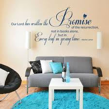 on christian wall art decals with our lord has written designer christian wall art decal