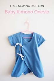 Free Sewing Patterns For Baby Stunning Baby Kimono Onesie Free Sewing Pattern And Tutorial So Sew Easy