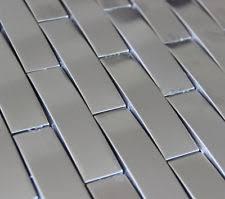 Metal floor tiles Bronze 3d Arch Stainless Steel Metal Mosaic Tile Kitchen Backsplash Bathroom Shower Ebay Silver Metal Floor Tiles Tiles Ebay