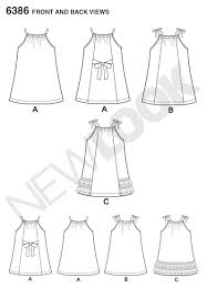 Pillowcase Dress Pattern Fascinating New Look 48 Toddlers' Easy Pillowcase Dresses