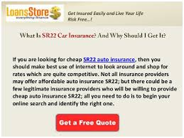 Sr22 Insurance Quotes Adorable Auto Insurance Quotes With Sr48 Cheap Sr48 Car Insurance Free Sr48