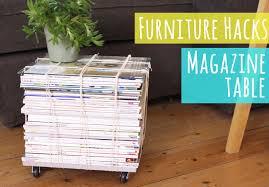 furniture hacks. Magazine Table, Tutorial From My Furniture Hacks Book F