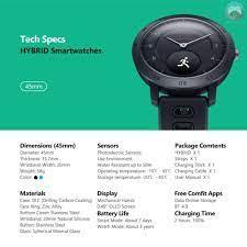 Đồng Hồ Thông Minh Zeblaze Hybrid 0.49 '' Oled Hiển Thị Màn Hình Oled Chống  Nước 4.0 Cho Ios / Android - Đồng hồ thông minh
