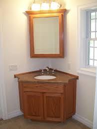 lighting corner. Perfect Corner Bathroom Vanity With Mirror Set And Also Lighting Fixture