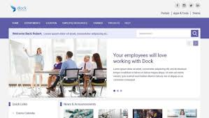 Sharepoint Website Examples Free Sharepoint Template Vs Pre Built Sharepoint Intranet
