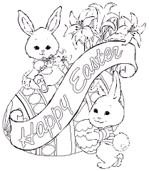 Easter Coloring Sheets 2019- Dr. Odd