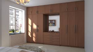 Bedroom Furniture  Wooden Modern Wardrobe Cabinet Bedroom Armoire - Types of bedroom furniture