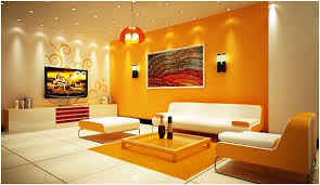 5 Living room design ideas in orange - Hometone - Home Automation and Smart  Home Guide