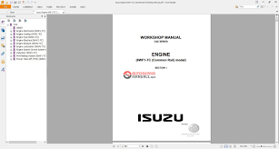 3ld1 isuzu wiring diagram isuzu get image about wiring diagram isuzu engine 6wf1 tc commanrail workshop manual auto repair