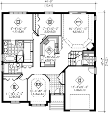150 Sq Ft European Style House Plan 3 Beds 200 Baths 1600 Sq Ft Plan 25 150