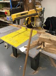 dewalt radial arm saw. dewalt dw729 radial arm saw ws woodmachinery