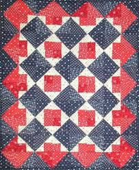 Red, White and Blue Quilt Kit – Sunshine & Hunny Quilts & Red, White and Blue Quilt Kit Adamdwight.com