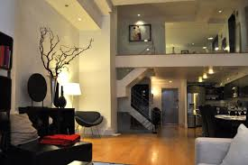 lighting for apartments. Apartment:Fancy Industrial Decor For Apartment With Black Shelving Units And Dim Lighting Fancy Apartments G