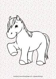 Small Picture Colouring Pages for Kids from Activity Village