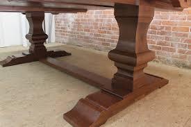 large square table venetian trestle