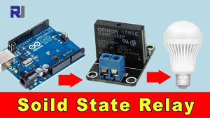 How to use <b>Solid State Relay</b> with Arduino to Control <b>AC</b> load ...