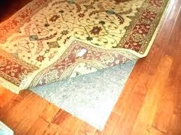 bright idea area rug pads for wood floors felt pad remarkable hardwood kids
