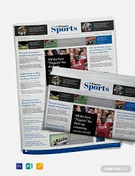 Microsoft Newspaper Template Free Free Newspaper Templates In Microsoft Publisher Template Net