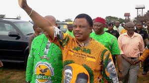 Image result for Willie obiano images of election celebration