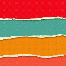 Colour Backgrounds Free Colour Torn Paper Background Vector Illustration Of Backgrounds