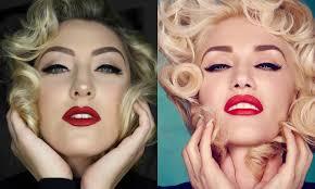 gwen stefani marilyn monroe makeup tutorial glamnanne