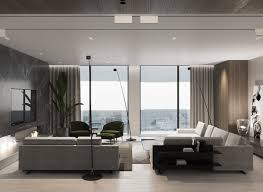 Modern Interior Design Pictures Luxury Modern Interior With Unified Wood Clad Decor