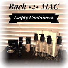 mac cosmetics other sold mac 7 empty conners