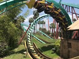 ba roller coaster at busch gardens ta bay