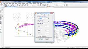 Football Stadium Design Software Sap2000 Structural Modeling Of Stadium Structure 01