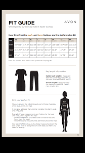 Jammin Jammies Size Chart How Does Avon Clothing Fit Online Beauty Boss