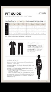 White Mark Size Chart Mark Avon Size Chart Archives Online Beauty Boss