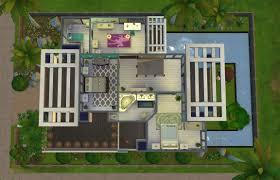 home design modern house floor plans sims 4 shabbychic style medium modern house floor plans