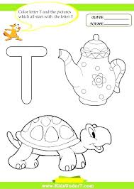 Letter T Coloring Page Home Improvement Pages To Print B For Adults