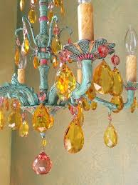 one of a kind chandeliers gypsy chandelier crystal and brass one of a kind by queendecor