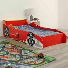 childrens racing car bed toddler kids