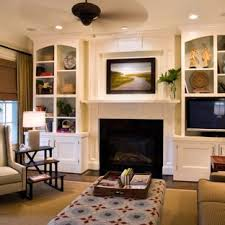 Wall furniture for living room Luxury Media Inspiration For Midsized Timeless Open Concept Dark Wood Floor And Brown Floor Living Houzz 75 Most Popular Traditional Living Room Design Ideas For 2019