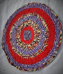 shabby chic shabby chic rag rug best of 22 inch round toothbrush knotted rag rug with