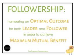 the power of followership jen dalitz the power of followership 3