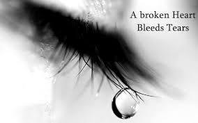 broken heart bleeds tears es wallpaper 00764