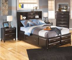kids storage bed. Kira Bookcase Storage Bed Full Size | Ashley Furniture ASB473-777488 Kids Storage Bed
