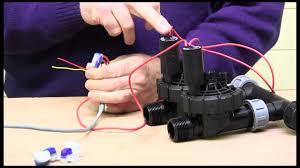wiring an irrigation solenoid valve wiring an irrigation solenoid valve
