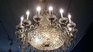 antique waterford crystal chandelier waterford chandeliers