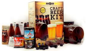 if you need a gift for a man who is always seeking out the newest craft beers he ll love the gold edition craft beer making kit from mr beer