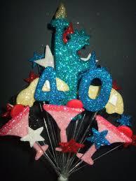 New York 40th Birthday Cake Topper Decoration Postage 325