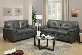 grey leather furniture. Elimination Grey Leather Sofa And Loveseat Set Inside Furniture