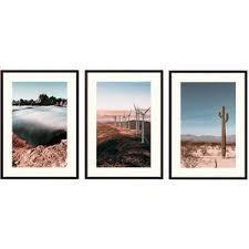 Купить <b>набор из 3-х постеров</b> Дом Корлеоне Коллаж Природа ...