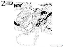 Zelda Coloring Pages Great Free Printable Zelda Coloring Pages For
