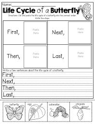 Life Cycle of a Butterfly (cut, paste and write!): | Life Cycle ...