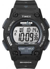 men s timex watch timex ironman expedition bodylink triathlon men s timex ironman shock resistant 30 lap watch t5k196